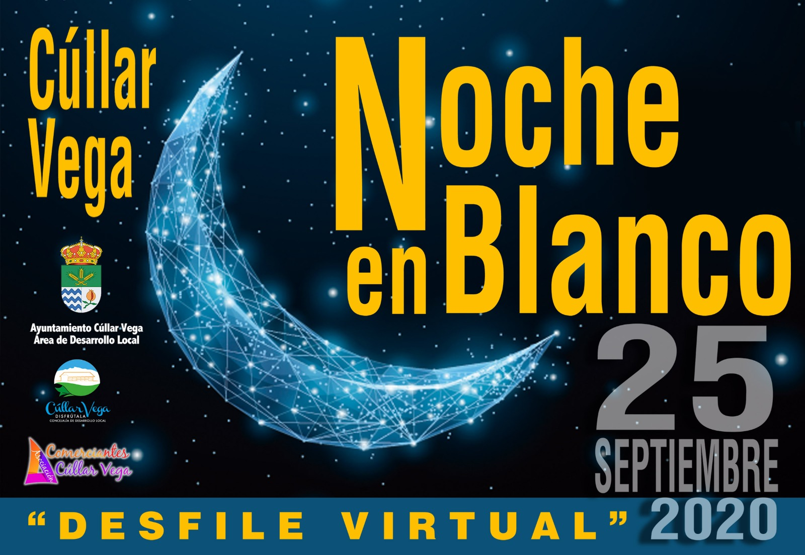 La Noche en Blanco de Cúllar Vega se reinventa para promocionar el comercio local en tiempos de coronavirus