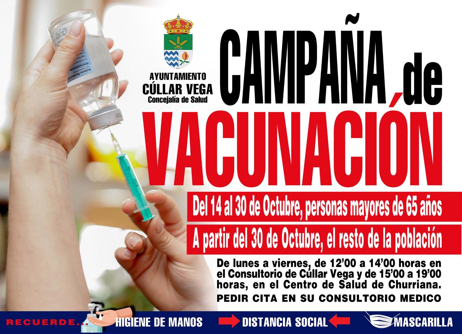 Campaña de Vacunación contra la Gripe 2020