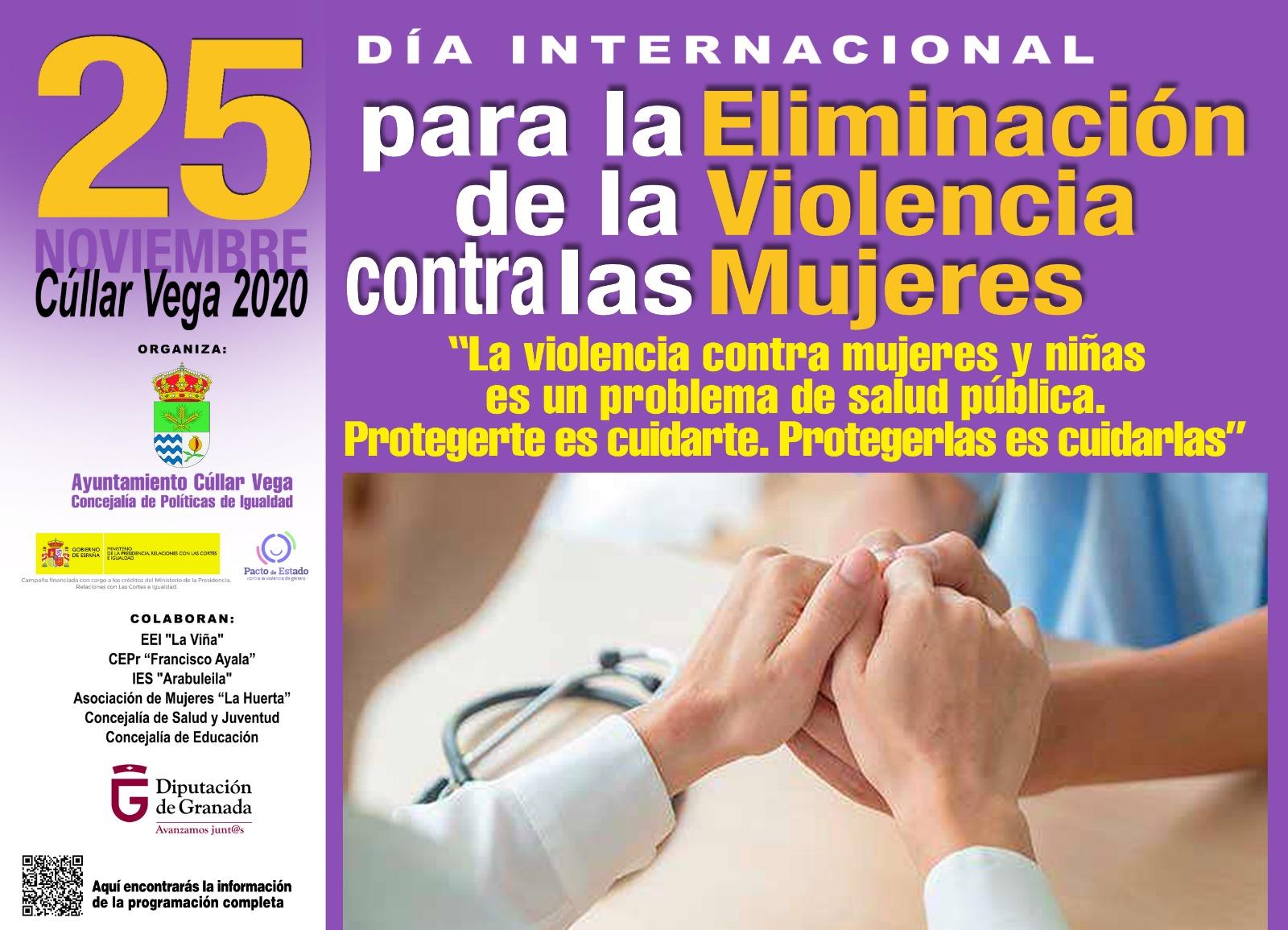 """Actos en torno al """"Día Internacional para la Eliminación de la Violencia contra las Mujeres"""" 25 de noviembre de 2020"""