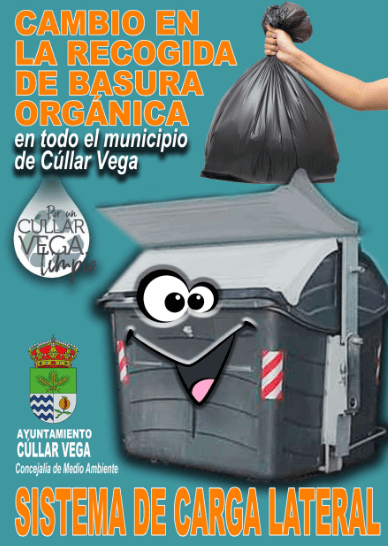Cambio en la recogida de basura orgánica en Cúllar Vega