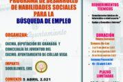 Curso de Desarrollo de Habilidades Sociales para la búsqueda de Empleo