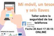 Taller Online y Gratuito sobre Seguridad en Móviles