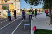 Las mujeres de Cúllar Vega reducen su estrés y aumentan su autoestima a través de un taller de baile al aire libre
