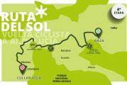 Cúllar Vega será mañana final de la cuarta etapa de la Vuelta Ciclista a Andalucía 'Ruta del Sol'