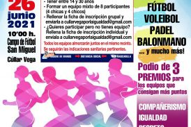 I Torneo Deportivo de Jóvenes por la Igualdad