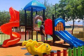 Cúllar Vega estrena un nuevo parque infantil en el barrio de Los Cuarenta