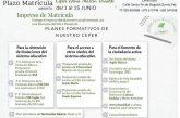 Oferta Educativa Centro de Educación Permanente Curso 2021/2022
