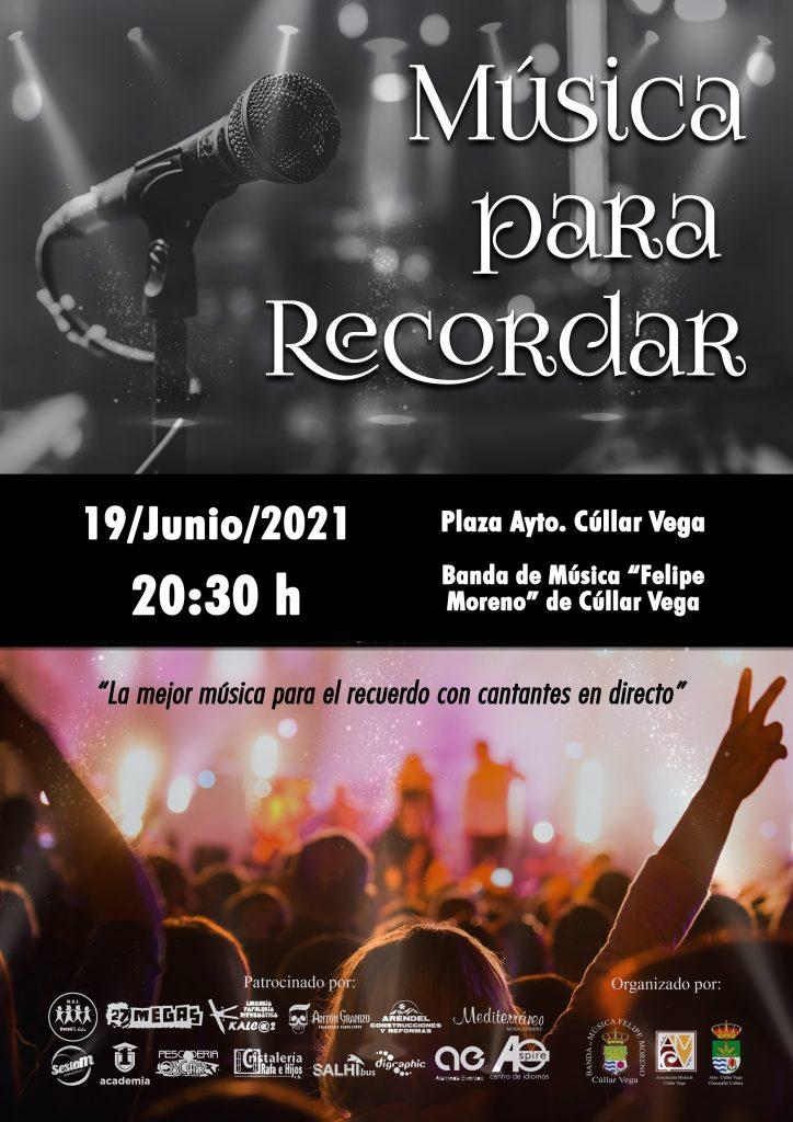 """""""Música para Recordar"""" concierto de la Banda de Música"""