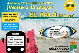 ¡Vente a la playa! Playa El Palo (Málaga)