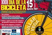 Listado de dorsales ganadores por el Día de la Bicicleta 2021 en Cúllar Vega