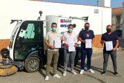 Cúllar Vega y Vegas del Genil colaboran para mejorar la limpieza en las zonas comunes de ambos municipios