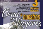 Merienda-cena ofrecida a nuestros mayores San Miguel 2021