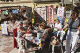 Las asociaciones sacan sus actividades a la calle en la Feria 'Cúllar Vega se mueve'
