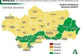 Nuevos Cambios en Andalucía a partir de hoy en las Medidas Preventivas Covid-19