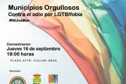 Concentración contra la oleada LGTBIFOBIA el 16 de Septiembre de 2021