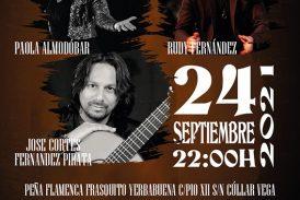 Apertura de la Temporada en la Peña Flamenca Frasquito Yerbabuena