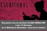 Encuentro literario con la escritora Clara Peñalver