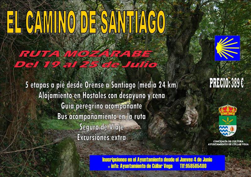 Camino de Santiago: Ruta Mozárabe del 19 al 25 de Julio