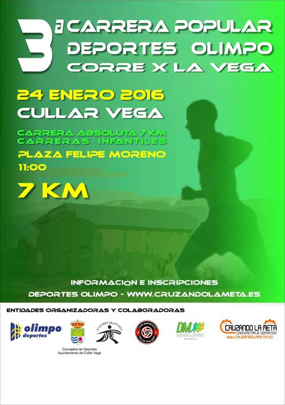 3ª Carrera Popular Corre por la Vega