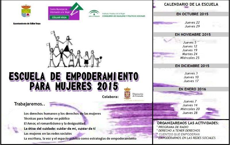 Escuela de Empoderamiento y talleres de empleo para Mujeres