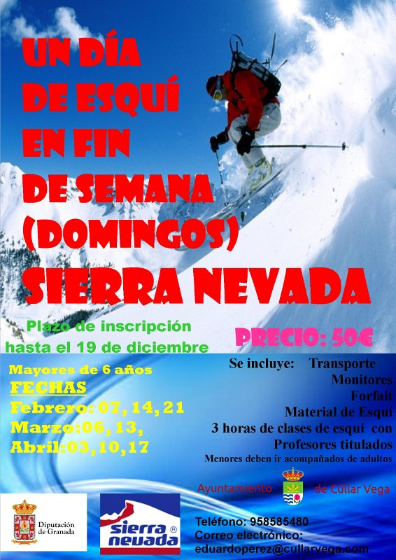 Un día de Esquí en Sierra Nevada