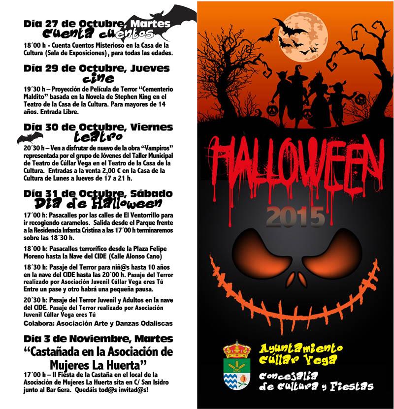Actividades para Halloween 2015