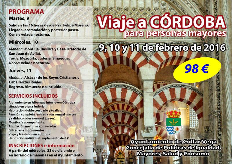 Viaje a Córdoba para mayores