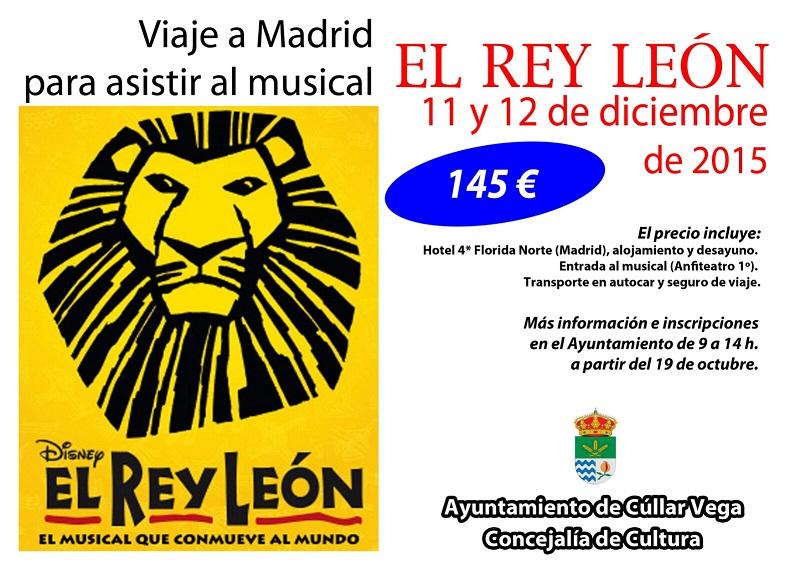 Viaje a Madrid para ver el musical: